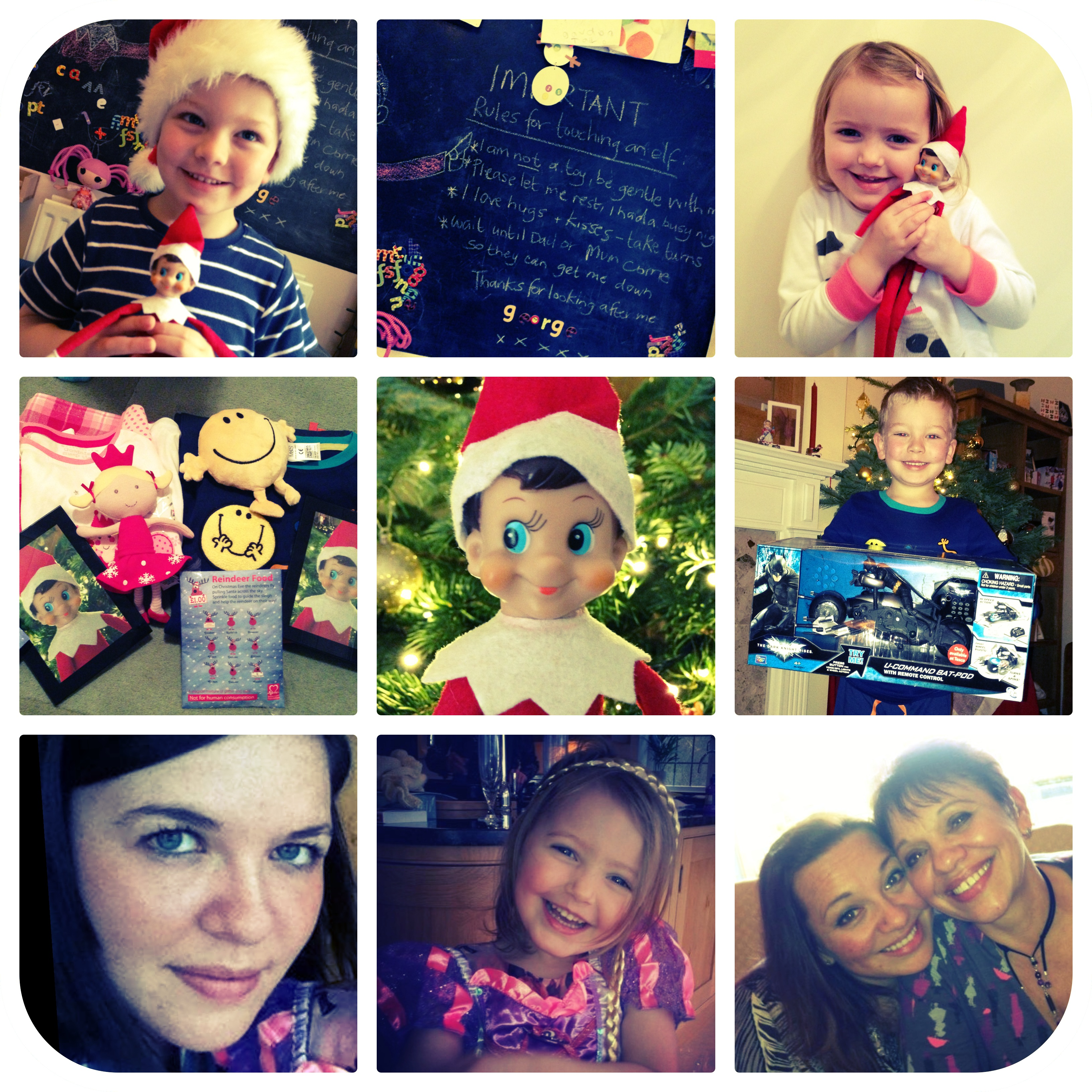 Christmas 2012 collage