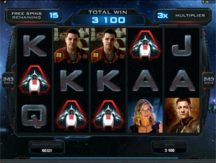 Battlestar Galactica Free Spins