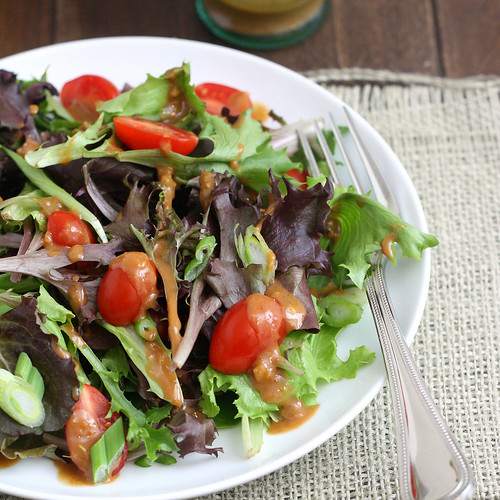 Mixed Greens Salad with Hoisin Vinaigrette | Tracey's Culinary ...