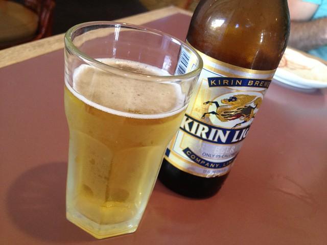 Kirin light beer - Tokkuri Tei