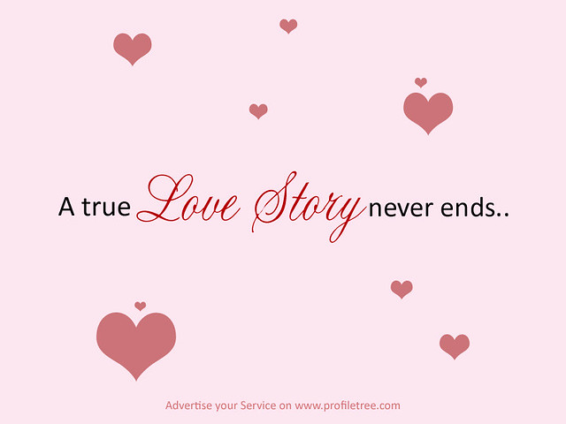 love story never ends quotes flickr