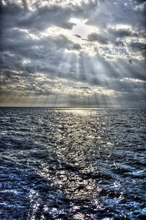 God Rays on the French Ocean