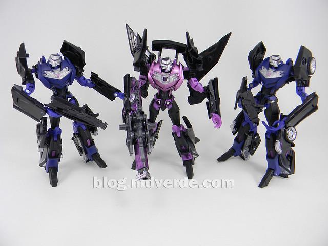 Transformers Jet Vehicon Deluxe - Prime Arms Micron - modo robot vs Vehicons RiD