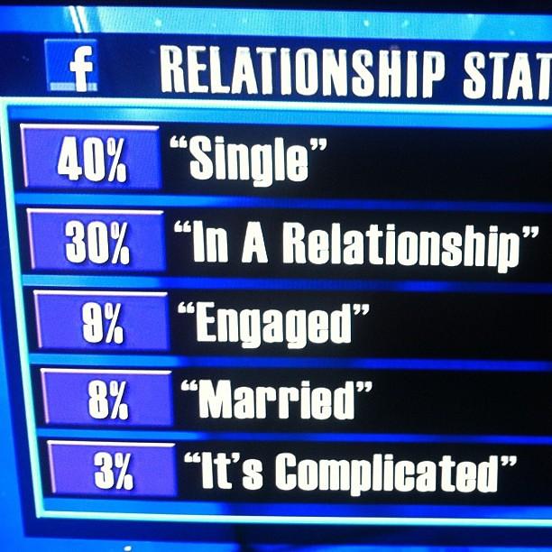 hide relationship status on facebook 2012