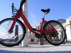 Capitol Bikeshare Bike at Union Station