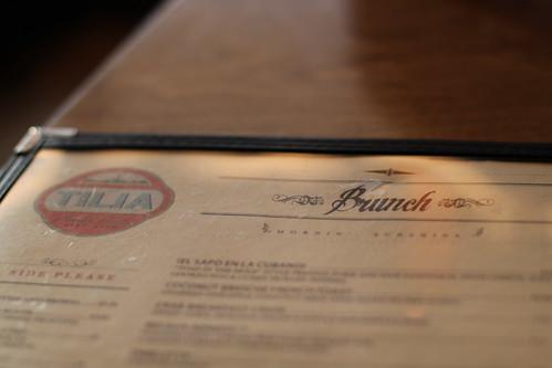 Tilia menu