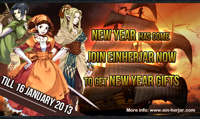 New Year in Einherjar
