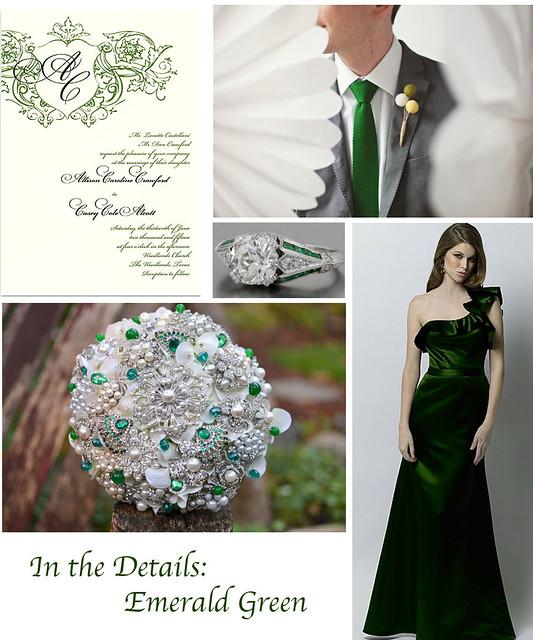 Emerald Wedding Details