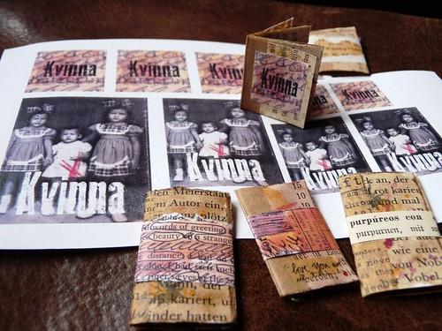 Mini books Kvinna