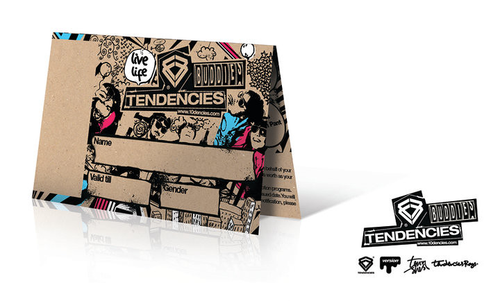 Tendencies Buddies Card