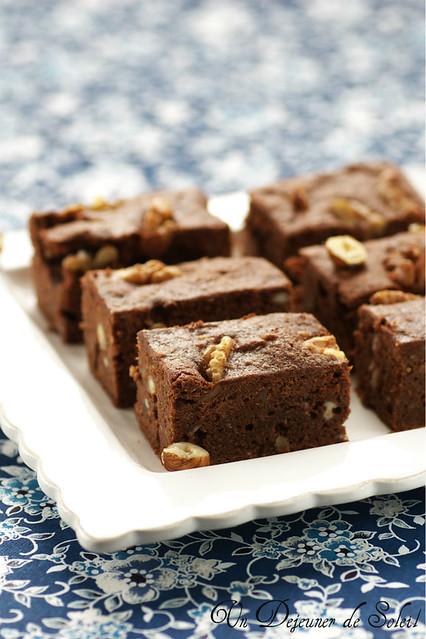 Gâteau au chocolat, ricotta et noisettes