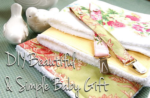 DIY Beautiful Simple Baby Gift copy
