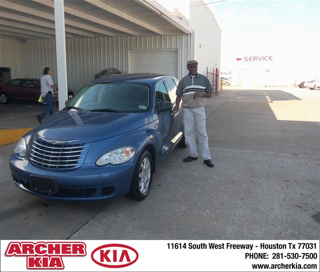 Congratulations To Don Lee Conley On The 2007 Chrysler PT