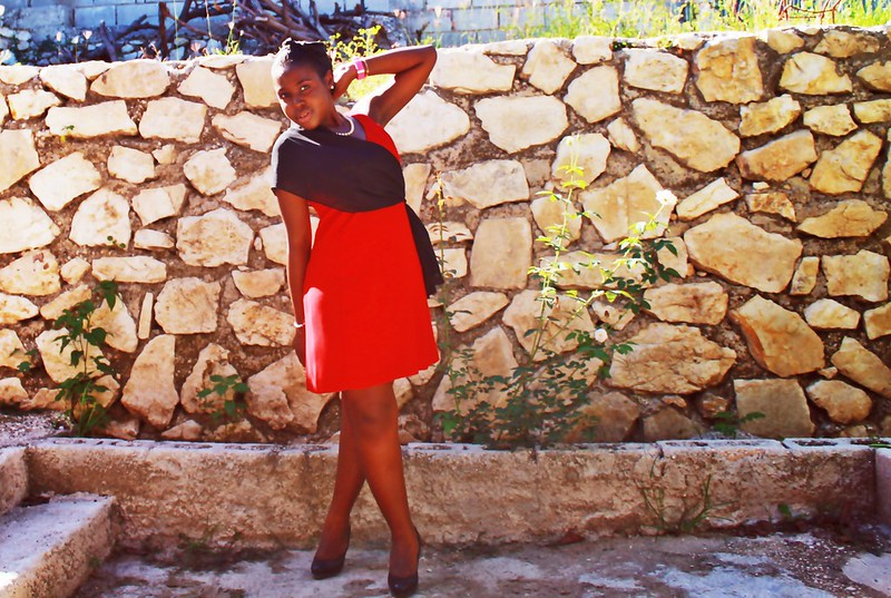 fashion photography,fashion post, Haiti, red dress,short,IMG_0683