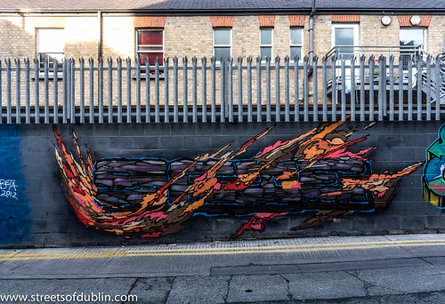 Dublin Street Art (New) - Ormond Place by infomatique