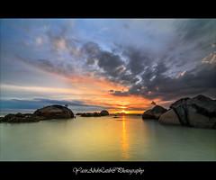 My first sunset 2013 - Permatang Damar Laut, Penang, Malaysia