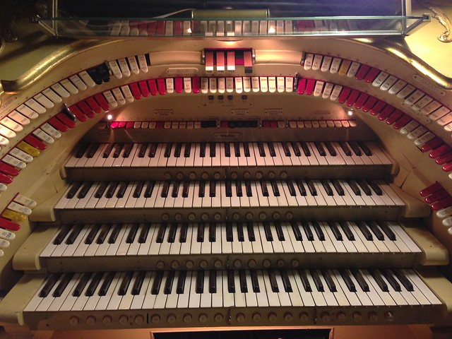 Wurlitzer organ at the Paramount Theater