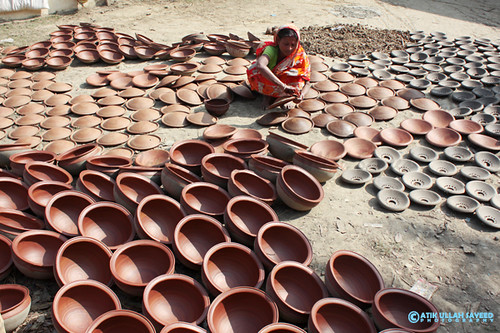 Pottery Worker of Bangladesh.