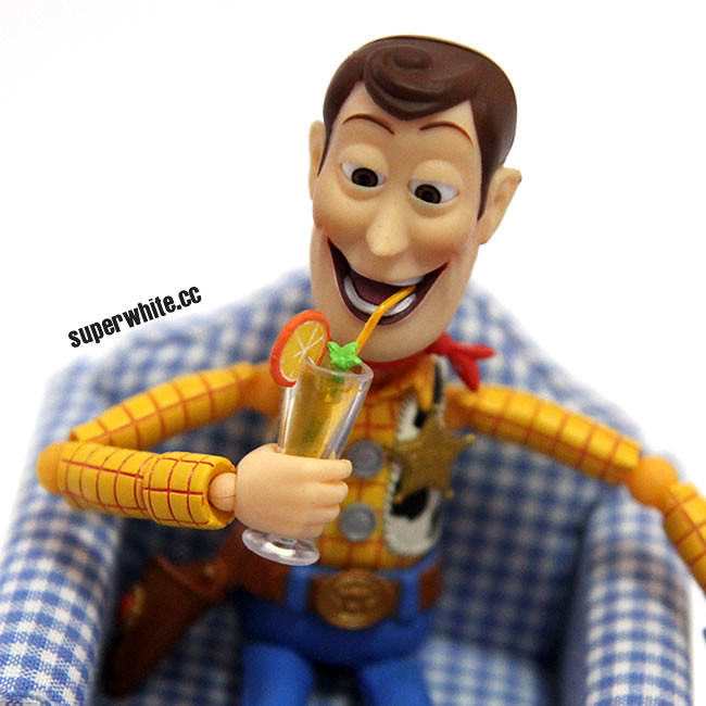 If you have a lemon, make lemonade. That's how Woody deal with it.