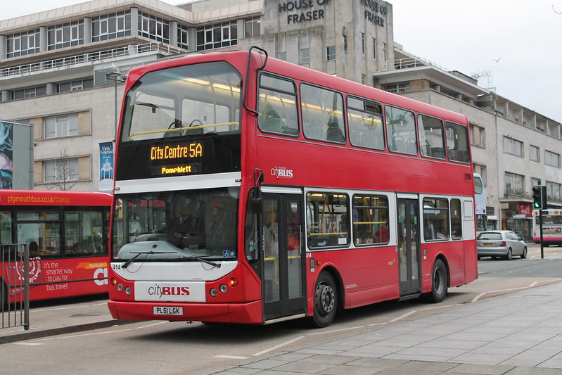 Plymouth Citybus 414