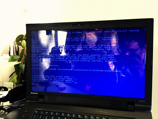 Blue Screen of Death