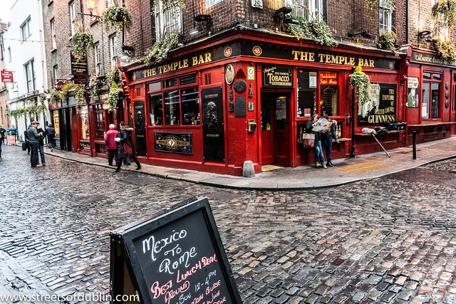 The Temple Bar Pub In Temple Bar (This Does Cause Confusion As Many Visitors Think That Temple Bar Is a Pub)