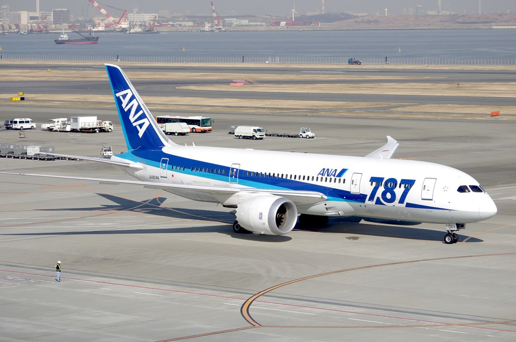 Boeing 787 Dreamliner ANA 1