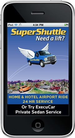 SuperShuttle iPhone App
