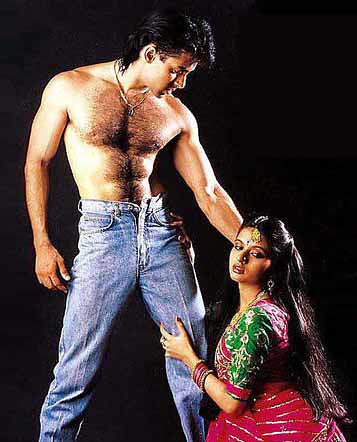 Salman Khan of 1989, in his first super-hit movie Maine Pyar Kiya