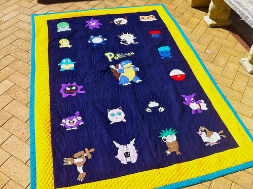 Pokemon Quilt