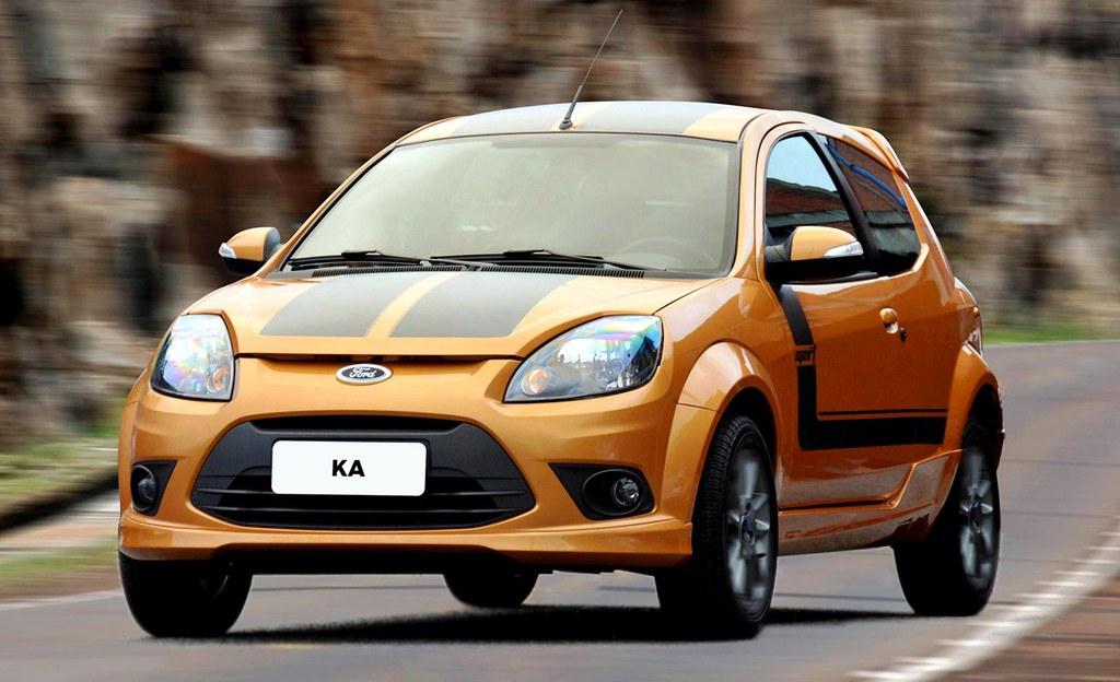 O Ford Ka   Sport Apelidado Pela Marca Como Baby Mustang Em Sua Apresentacao Ja Nao Faz Mais Parte Da Gama De Producao Com A Previsao De Um Volume