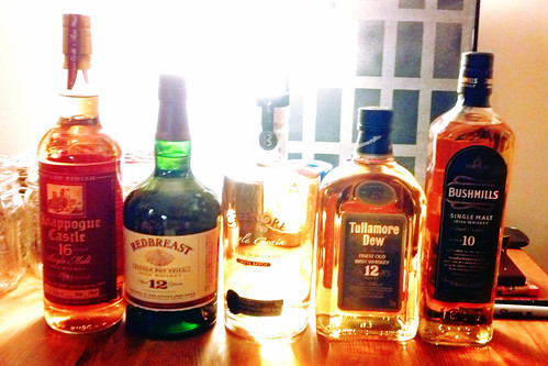 whiskey club: the irish whiskey edition.