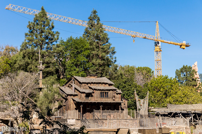 Big Thunder Mountain Crane