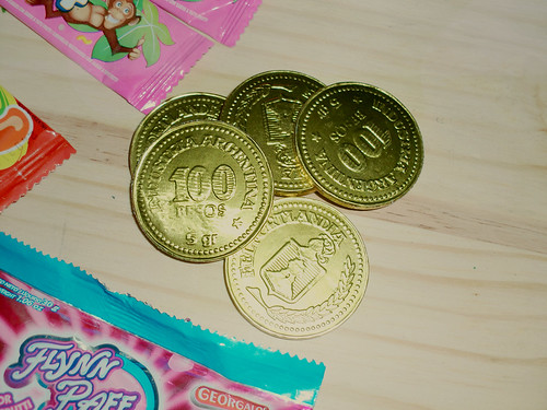 Package unboxing: Monedas Argentinas de Chocolate