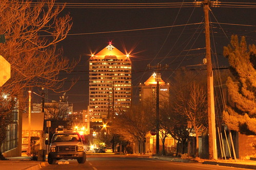 Albuquerque Downtown by CaptDanger