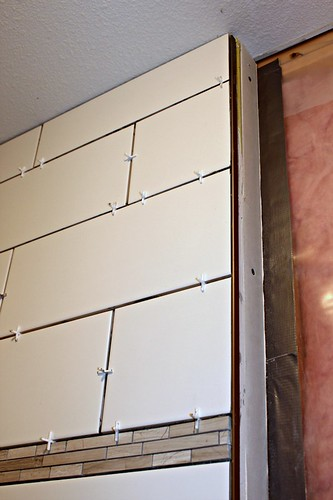 tiled shower 12