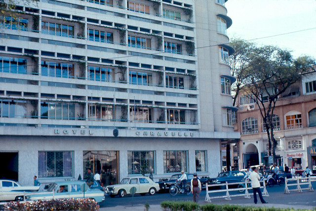 Saigon 1967 - Hotel Caravelle - Photo by Eaindy