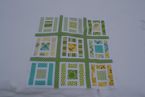 Lillian & Oliver Quilt Top