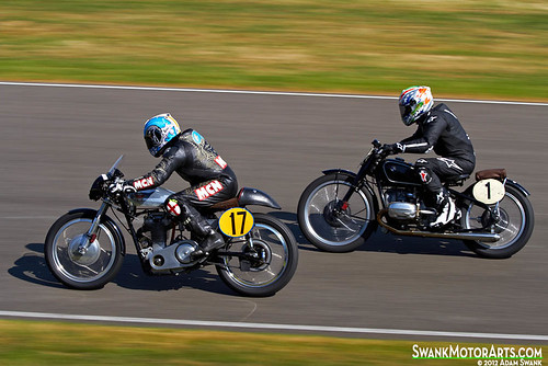 Matchless vs. BMW by autoidiodyssey