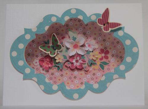 """""""Secret Garden"""" card"""