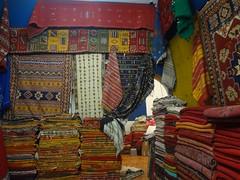 Loja de tapetes em Marrakech