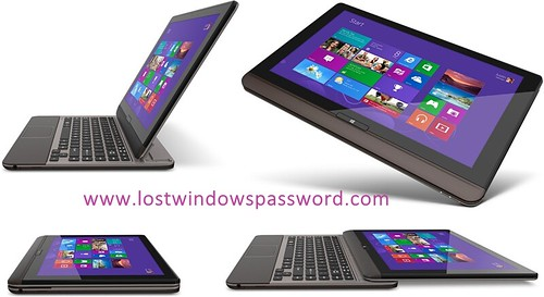 reset toshiba password windows 8