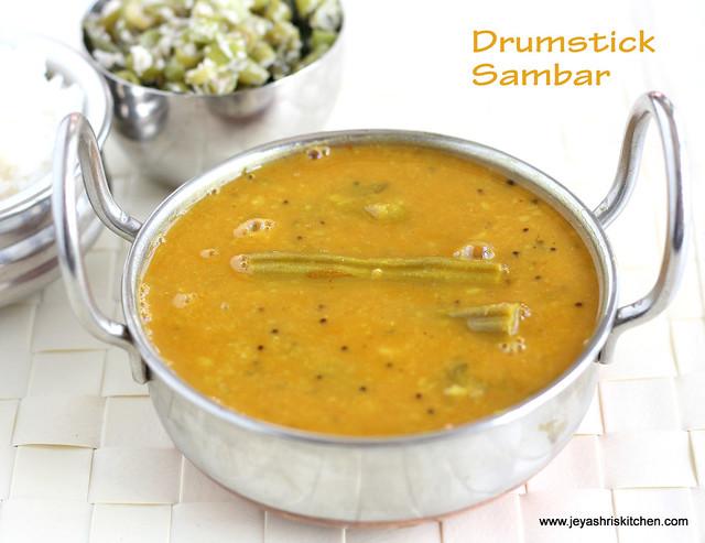 drumstick sambar 3