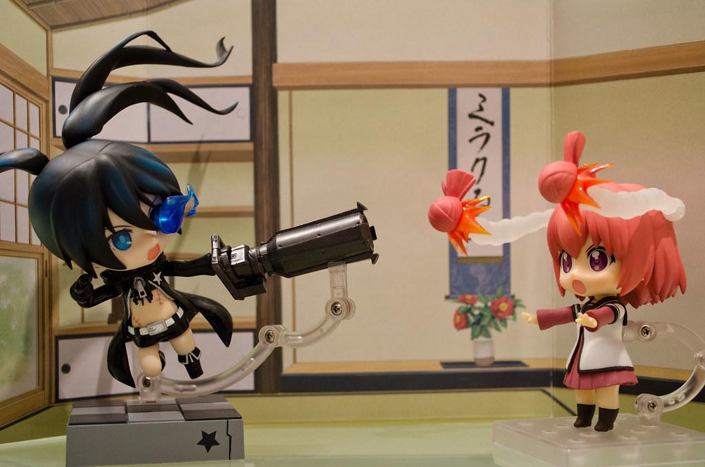 Nendoroid Black Rock Shooter & Akaza Akari