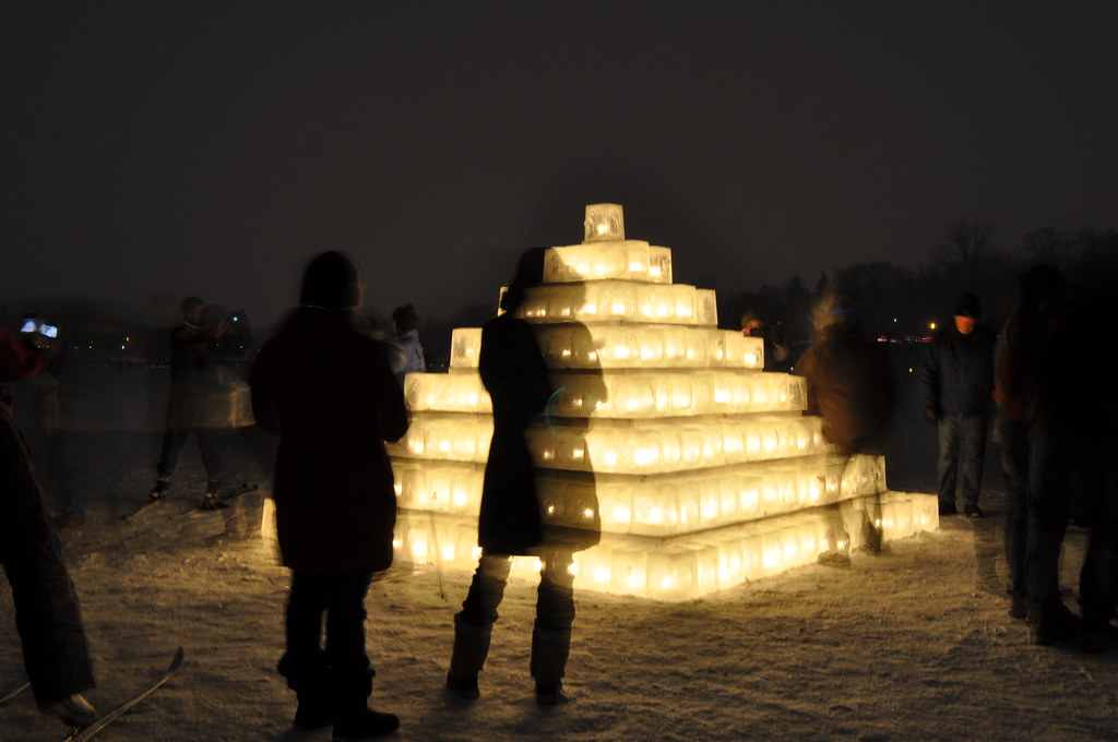 Minneapolis Luminary Loppet 2013