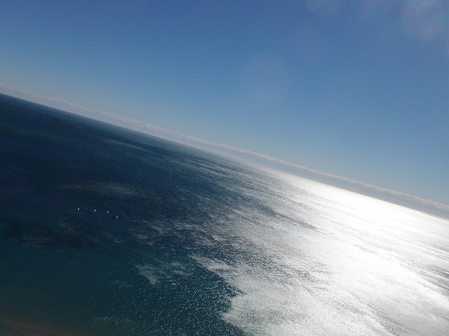Vistas de Alicante desde el castillo