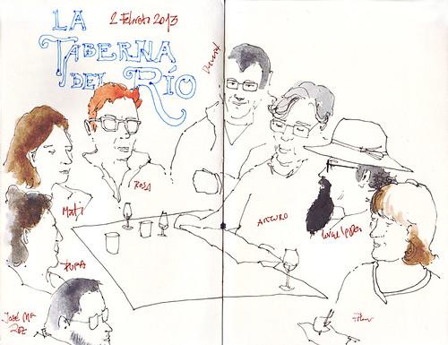 Dibujando en Miraflores-grupo