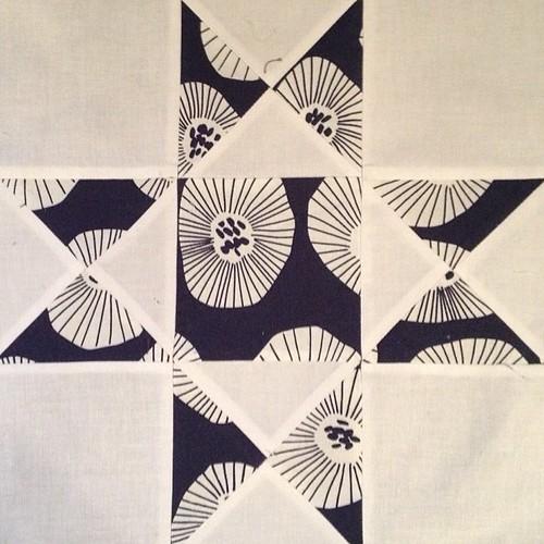 Stitch that Stash - February block