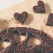 Raw cherry brownie hearts by Ashlae | oh, ladycakes