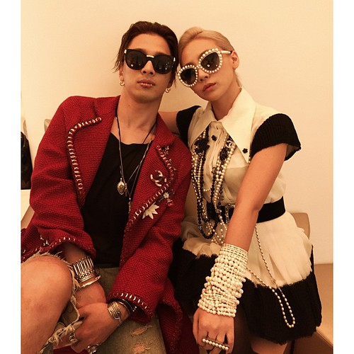 CL IG with Taeyang 2015-05-05
